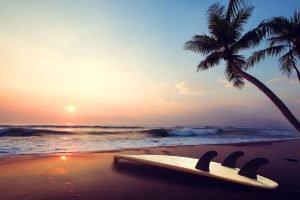 Non Descript Sunset Beach Photo